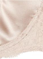Stella McCartney Clara Whispering stretch-silk strapless bra