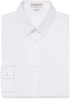 Balenciaga Men's Solid Dress Shirt