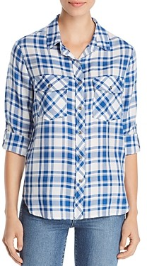 BILLY T Roll-Tab Button-Down Shirt