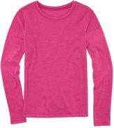 Arizona Long-Sleeve Solid Fave Tee - Girls 7-16
