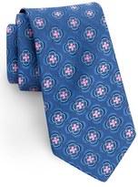 Ted Baker Men's Geometric Floral Silk Tie