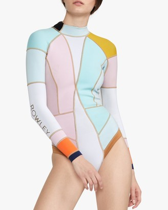 Cynthia Rowley Dylon Colorblock Wetsuit