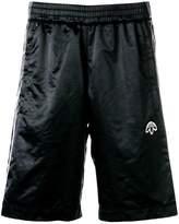 Adidas Originals By Alexander Wang logo embroidered track shorts