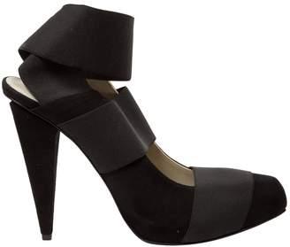 Acne Studios Black Suede Sandals