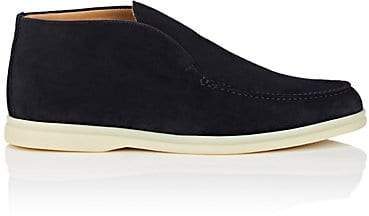 c4d0d1fce69 Men's Open Walk Suede Laceless Chukka Boots - Navy