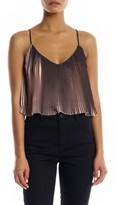 KENDALL + KYLIE Women's Pleated Crop Camisole
