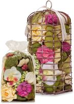 Bed Bath & Beyond Sweet Nectar Hexagon Birdcage Potpourri in Pink