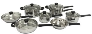 Berghoff Cook'N'Co 14 Piece Stainless Steel Cookware Set