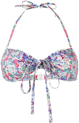 Isabel Marant Starlae floral bikini top