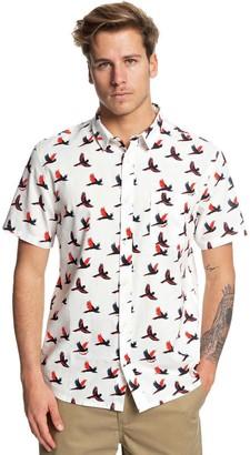 Quiksilver Cockatoo Short-Sleeve Shirt - Men's