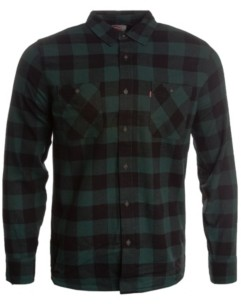 Levi's Men's Buffalo Check Flannel Shirt