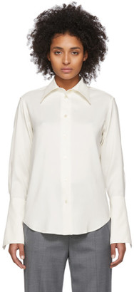 Studio Nicholson Off-White Line Shirt