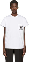 Christopher Kane White Patch Pocket T-Shirt