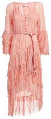 Alice + Olivia Alice+Olivia Onica Ruffle Dress