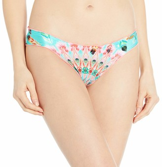 Luli Fama Women's Dream Catcher Full Ruched Back Bikini Bottom