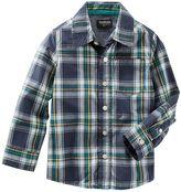 Osh Kosh Toddler Boys Button-Front Shirt