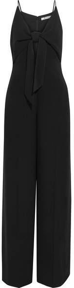 Alexander Wang Knotted Crepe Jumpsuit - Black