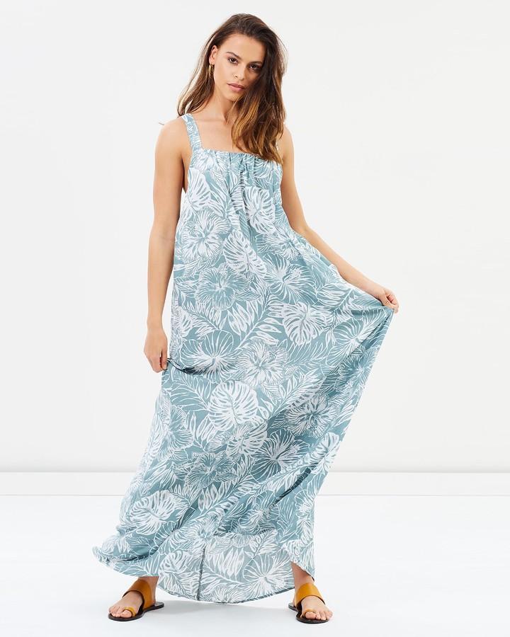 Rusty Amazon Maxi Dress