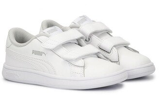 Puma Kids touch-strap sneakers