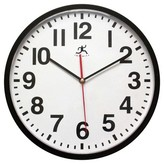 """Infinity Instruments Pure Office Clock - 13""""D"""