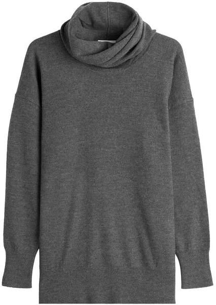 DKNY Merino Wool Turtleneck Pullover