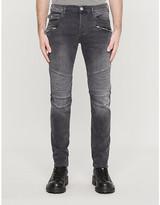 True Religion Rocco motorcycle-detail slim jeans