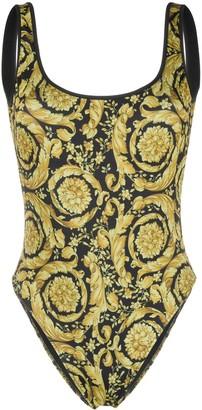 Versace Barocco print swimsuit