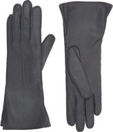 Barneys New York Women's Gusseted Gloves-GREY