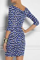 Diane von Furstenberg Bentley dot-print silk-jersey dress