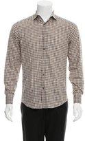 Lanvin Gingham Button-Up Shirt