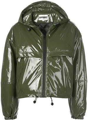 Apparis Colby hooded zip up jacket