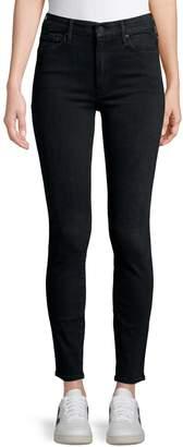 Mother High-Waist Stretch Jeans