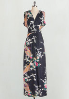 Feeling Serene Maxi Dress in Evening in L