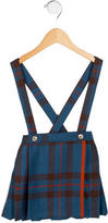 Oscar de la Renta Girls' Plaid Wool Jumper w/ Tags