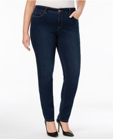 Style&Co. Style & Co Plus Size Tummy-Control Skinny Jeans, Created for Macy's
