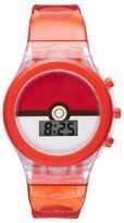 Pokémon Pokéball Kids' Digital Light-Up Watch