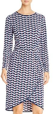 Leota Angelina Long-Sleeve Geo Dress