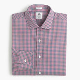Thomas Mason for J.Crew Ludlow shirt in grape tattersall