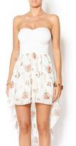 Entro Floral Bottom Dress
