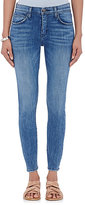 Current/Elliott Women's The High Waist Stiletto Skinny Jeans-BLUE