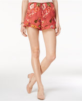 American Rag Printed Ruffle-Hem Soft Shorts, Only at Macy's