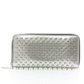 Christian Louboutin Panettone Metallic Leather Wallets