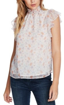 1 STATE Woodland Floral-Print Top