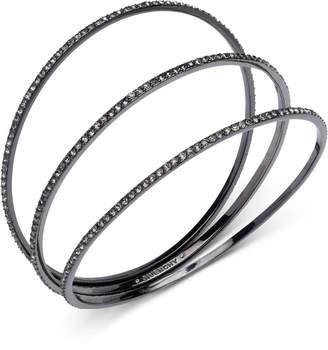 Givenchy 3-Pc. Pave Bangle Bracelets Set