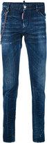 DSQUARED2 denim jeans with chain - men - Cotton/Polyester/Spandex/Elastane - 48