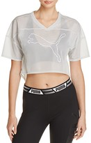 Puma PUMMA Cropped Football Tee