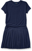 Ralph Lauren 7-16 Tee-And-Skirt Dress