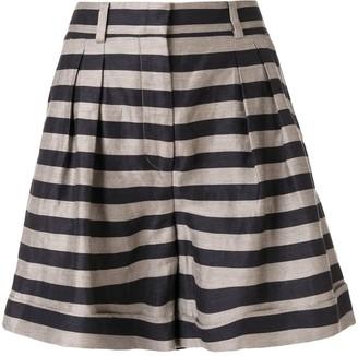 Rebecca Vallance Nautique woven shorts