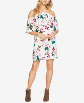 1 STATE 1.STATE Off-The-Shoulder Flounce Dress