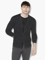 John Varvatos Silk Linen Cardigan